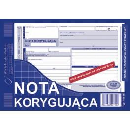 NOTA KORYGUJĄCA A/5 MP108-3E